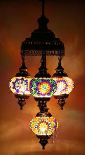 Mosaic Chandelier Turkish Mosaic Chandelier Yurdan Com
