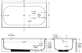Deep Bathtubs Standard Size Standard Bathtub Sizes Shower Enclosures Home Steam Showers Bath