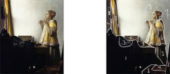 vermeer pearl necklace notan drawing of johannes vermeer painting creative