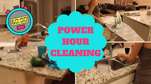 Clean My House Night Time Cleaning Power Hour Speed Clean My House Sahm