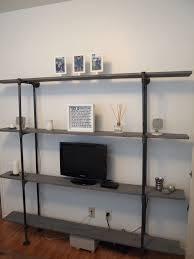 diy industrial pipe shelf onigiri everyday