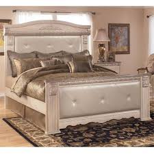 Ashley King Size Bed Signature Design By Ashley B17456586299 Silverglade Series King