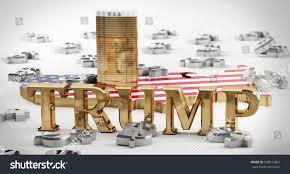 trump tower gold kielce poland december 18 2016 gold stock illustration 538574863
