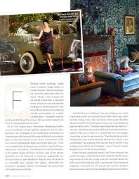 Instyle Home Decor Dita Von Teese At Home In Instyle Magazine February 2011 U2013 Swing