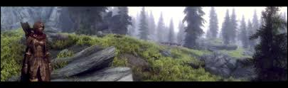 skyrim panorama shot uses a custom enb mod based off of the winds