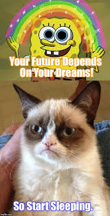 In Your Dreams Meme - dream big people imgflip