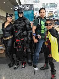 batman arkham origins costume nycc 2015 family robin catwoman