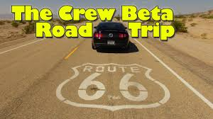 Us Route 66 Map by The Crew Beta Route 66 Full Trip Part 1 Of 3 Youtube