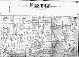Michigan Township Map by Fenton Township Maps
