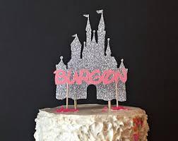 cinderella castle cake topper castle cake topper etsy