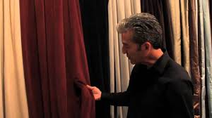 Velvet Curtains Signature Blackout Velvet Curtains By Half Price Drapes Youtube