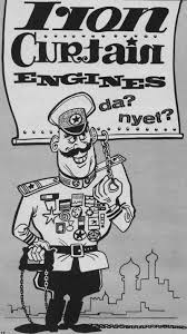 Iron Curtain Political Cartoons Curtain Engines Da Nyet From August 1962 American Modeler