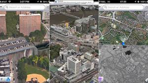 Google Maps Meme Apple U0027s New 3d Maps Are An Apocalyptic Horror Show