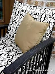 Cushion Covers For Patio Furniture by 1000 Images About Diy Patio Cushion Covers On Pinterest Outdoor