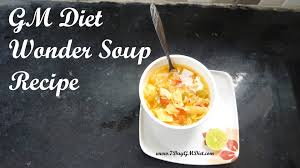 gm diet wonder soup recipe cabbage soup for weight loss youtube