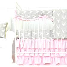 deer baby bedding sets woodlands deer crib bedding lane girly pink