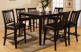 7 piece counter height dining room sets buy furniture of america cm3325pt 7pk set bridgette ii 7 piece
