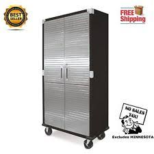 storage cabinets with doors and shelves metal garage cabinets ebay