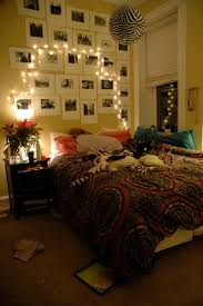how to put christmas lights on your wall another great lighted headboard idea is to put pictures above your