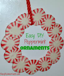 peppermint ornaments gifts the happy