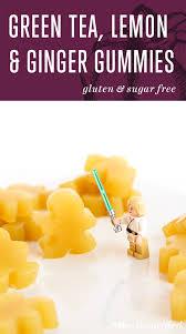 ginger green tea lemon u0026 ginger gummies meatified