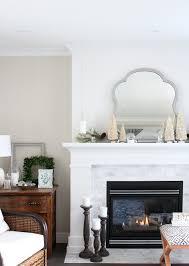 vintage winter wonderland christmas mantel satori design for living