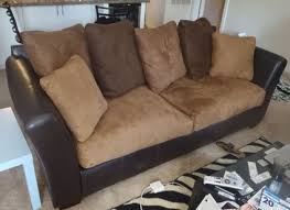 Oak And Sofa Liquidators Bakersfield Leather And Suede Sofa Couch Home Pinterest Suede Sofa
