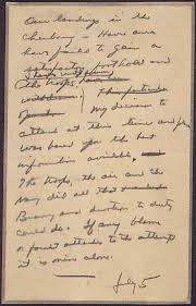 message drafted by general eisenhower in case the d day invasion