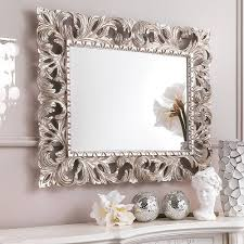 Ornate Bathroom Mirror 25 Best Collection Of Ornate Silver Mirrors