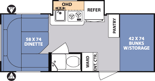 floor plans for travel trailers new travel trailer rvs trailers p 20 showy r pod floor plans