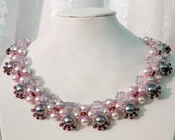 beading necklace designs images Free pattern for beaded necklace katherine beads magic jpg