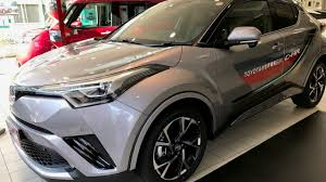 car toyota test drive a new car toyota c hr 1 8 hybrid in tokyo japan youtube