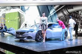 peugeot exalt concept les nouveautés du stand peugeot au mondial de l u0027auto