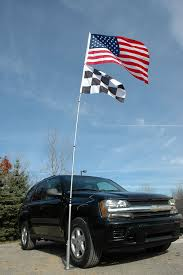 Automotive Flags Amazon Com Flagpole To Go Ultimate Tailgaters Package With 14