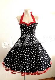 rockabilly dress with polka dots by elazara on etsy u20ac109 90