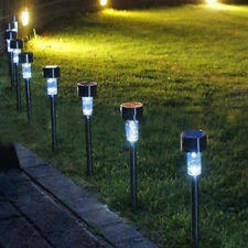 solar led walkway lights solar led walkway path lights ebay