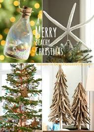 Pottery Barn Christmas Ornaments Canada by Beach Christmas Decorations U0026 Ideas Inspired By Sea Sand U0026 Shells