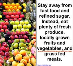stay away from processed food healthful diet and nutrition