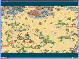 World Deserts Map by Map Angels Online Community Site