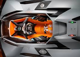 concept lamborghini lamborghini egoista one seater concept celebrates the brand u0027s 50th