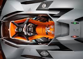 concept lamborghini lamborghini egoista one seater concept celebrates the brand u0027s 50th