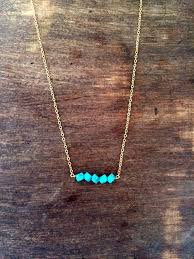 turquoise gold chain necklace images Best 25 turquoise necklace ideas diy jewellery box jpg