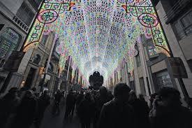 lights festival chicago time light matters europe s leading light festivals archdaily