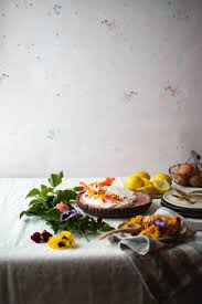 edible flower garnish hibiscus lemon curd tart with cocoa crust edible flowers