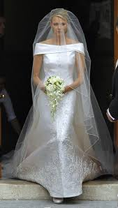 armani wedding dresses charlene wittstock marries in armani royal wedding dresses