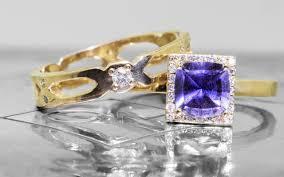 diamonds sapphire rings images 1 38 carat gia purple sapphire ring with white diamond halo jpg