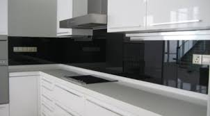 black glass backsplash kitchen kitchen glass backsplash glass malaysia glass renovation idea
