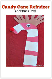 christmas craft candy cane reindeer jdaniel4s mom