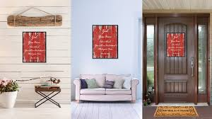 god your voice religious quote saying gifts home décor wall art