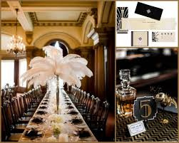 great gatsby centerpieces the great gatsby viva events cincinnati wedding and event